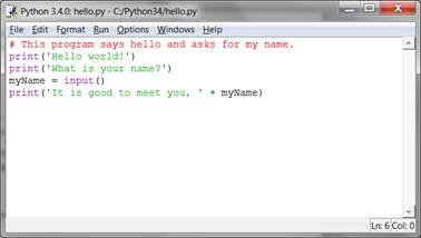 Open a File in Python
