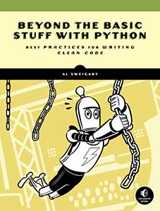 Cover of Beyond the Basic Stuff with Python