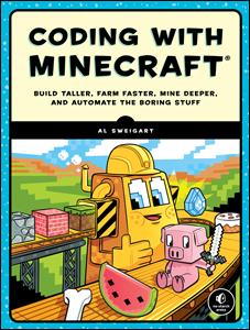 Cover of Coding with Minecraft