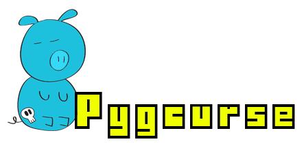 Pygcurse logo