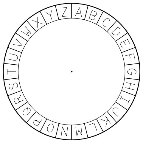 Cipher Wheel