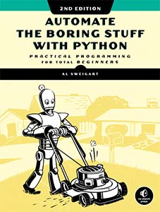 Cover of Automate the Boring Stuff with Python