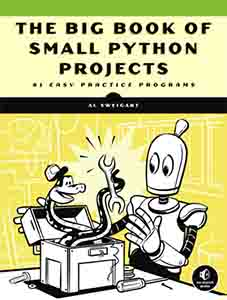 Cover image of The Big Book of Small Python Projects