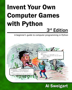 Invent with Python book cover for 3rd edition