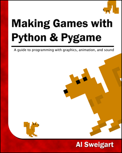 Cover of Making Games with Python and Pygame